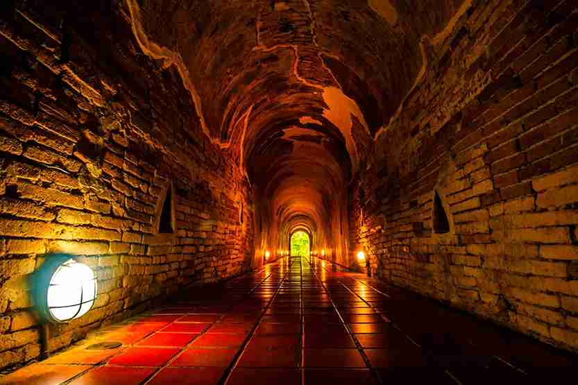 Check out the ancient water system at the Siloam Tunnel. Photo by