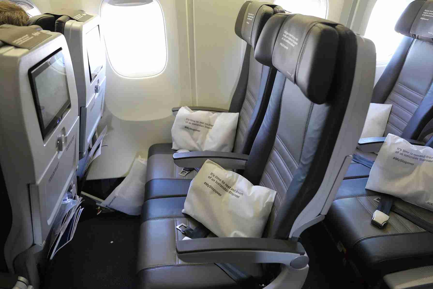Icelandair-seat
