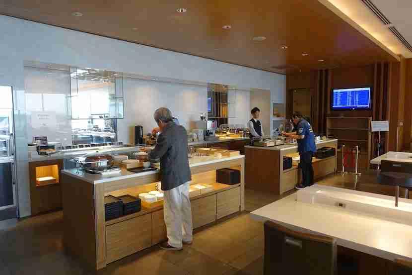JAL Sakura buffet