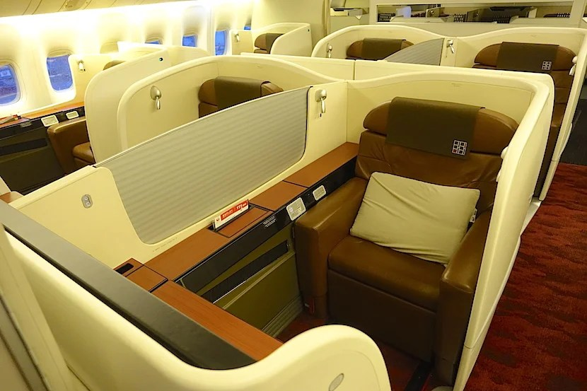 JAL first class cabin 2