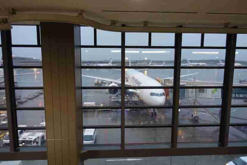 JAL plane gate1