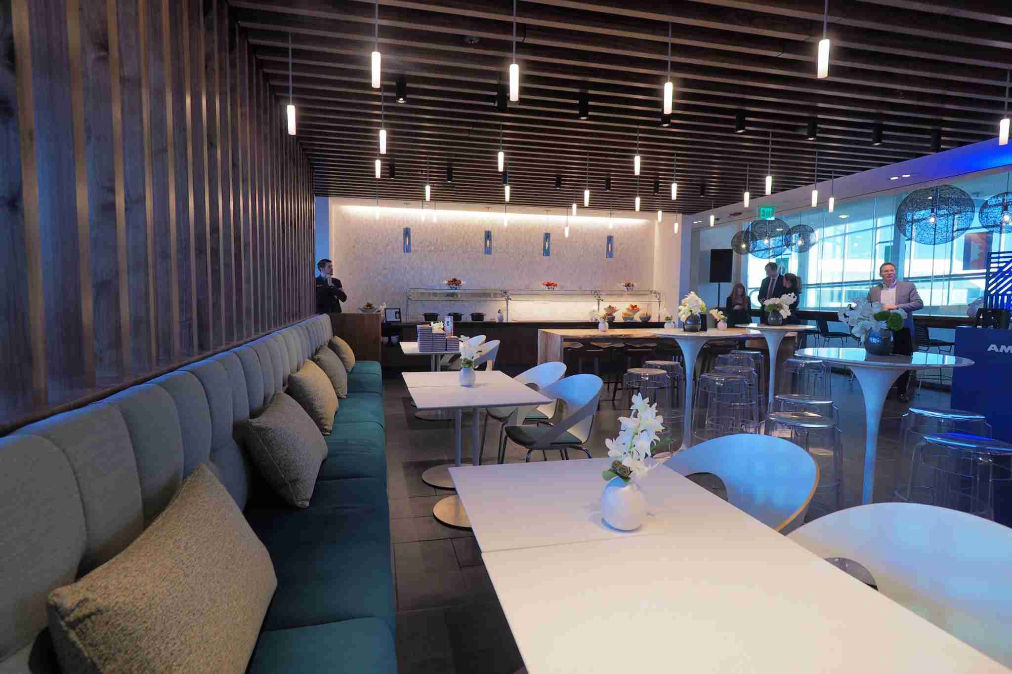 The Amex Centurion Lounge in Philadelphia (PHL). (Photo by Zach Honig / The Points Guy)