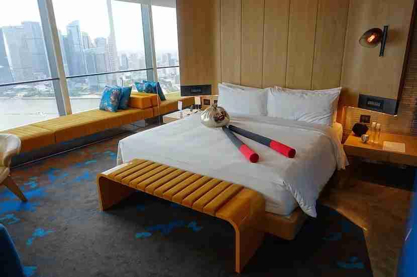 W Shanghai bed 2
