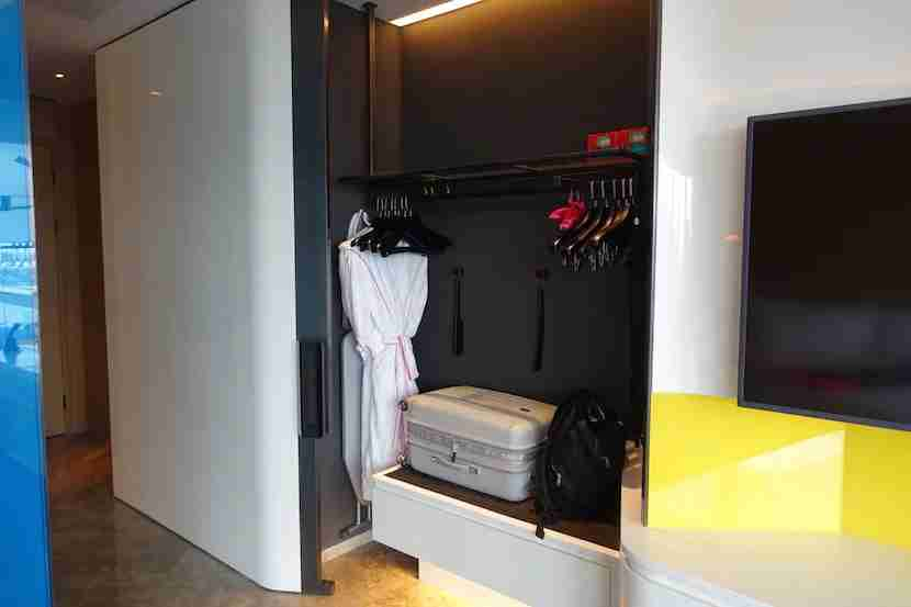 W Shanghai closet