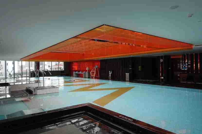 W Shanghai indoor pool 1