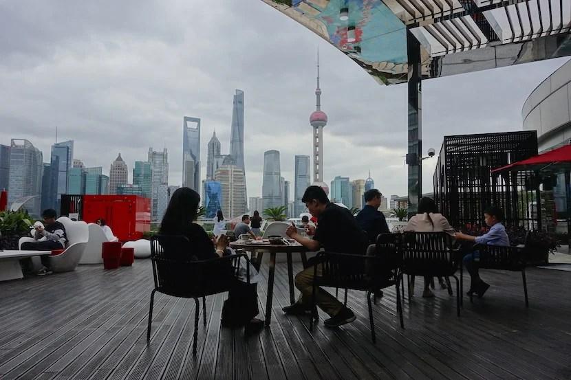 W Shanghai lunch patio 1