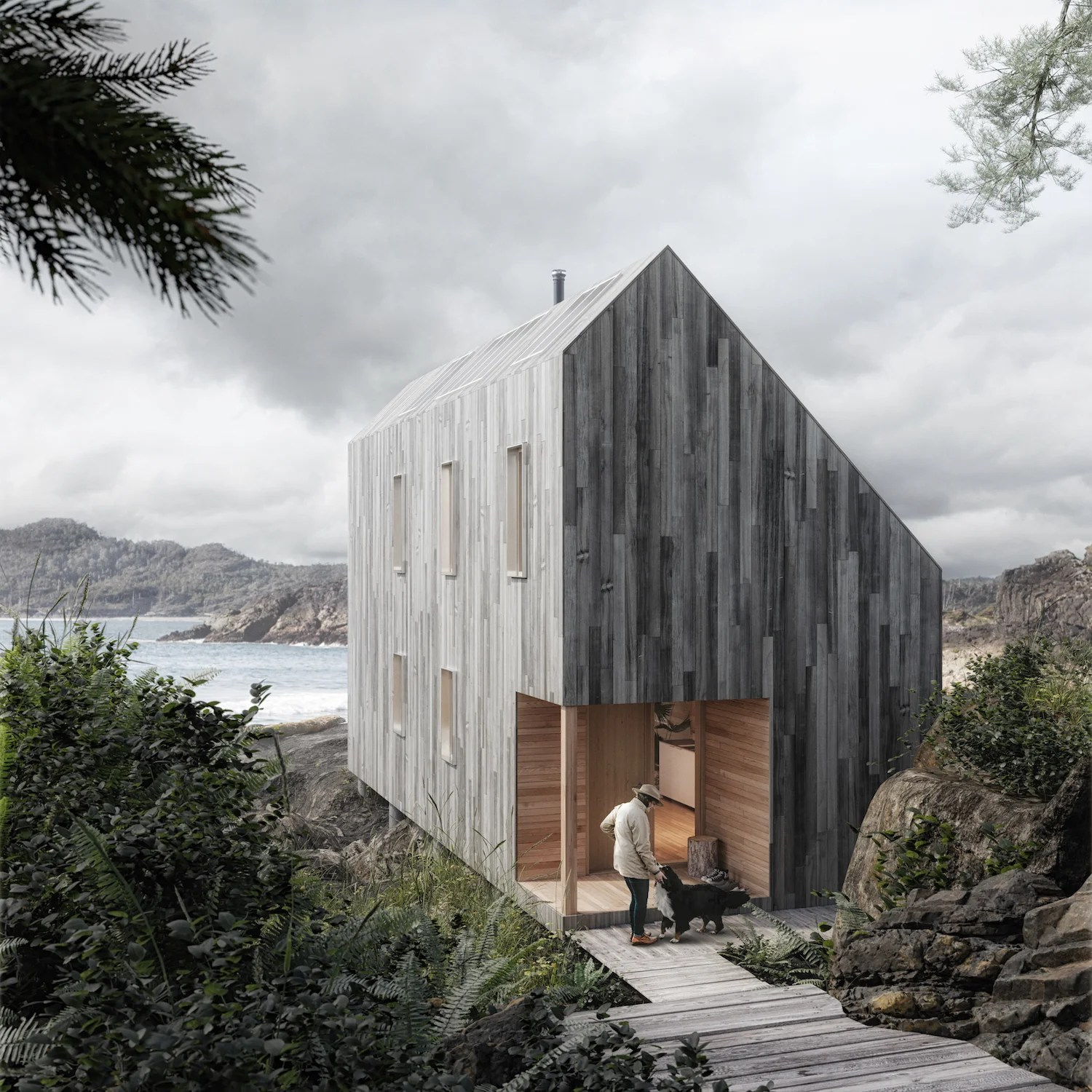 """Serf Huts Group: This Flat-Pack """"Surf Shack"""" Can Be Set Up Anywhere"""