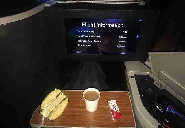 AA LAX-AKL business class catering_3 Credit_TPG Reader