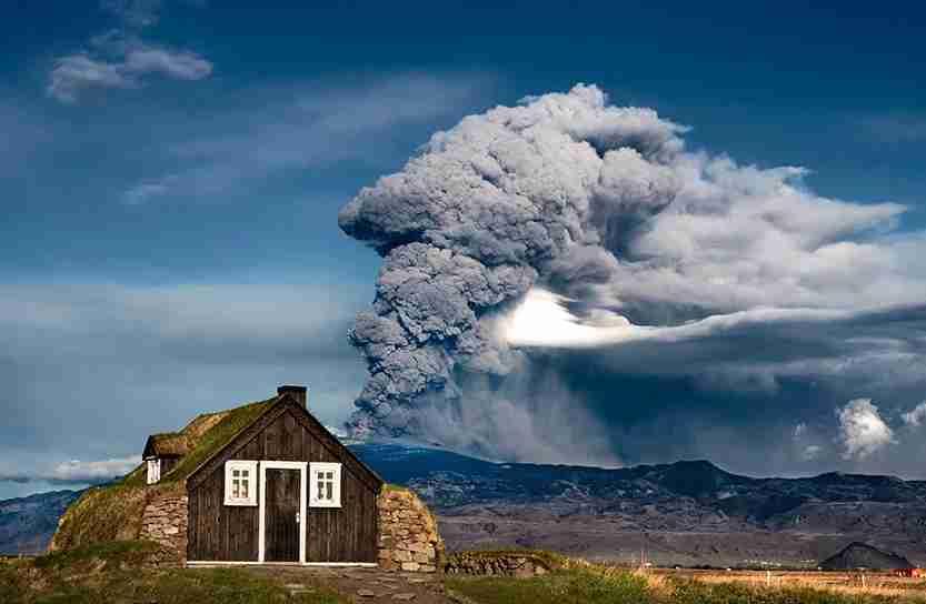 iceland, volcano