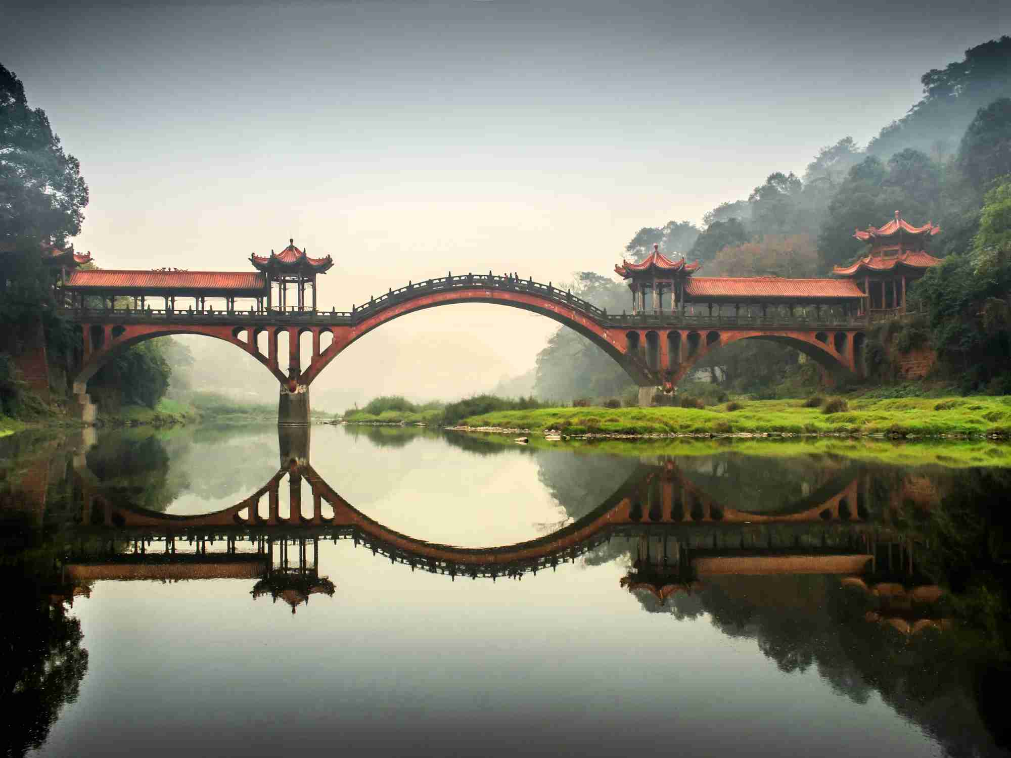 Image of Sichuan, China by photography is a play with light / Getty Images