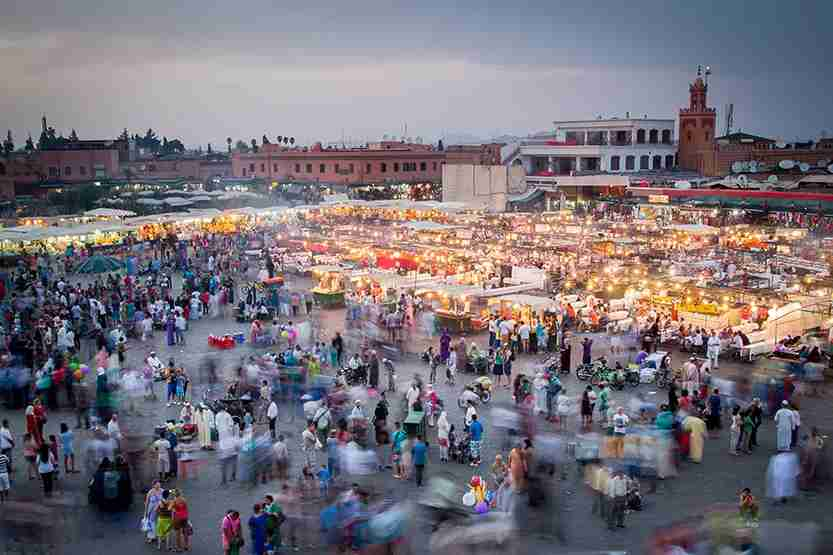 Marrakesh has been a favorite with the jet set for decades. Image credit: Getty Images.