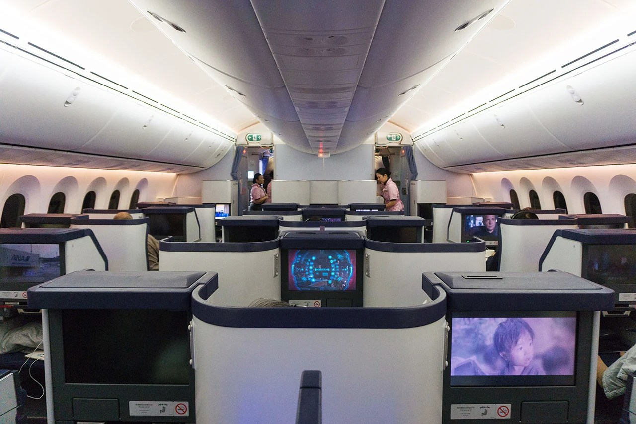 Flight Review Ana 787 8 Business Class From Brussels To