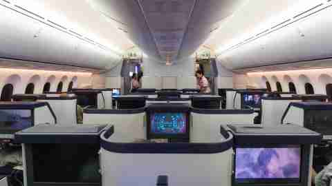 NA (787-8) Business Class from Brussels to Tokyo