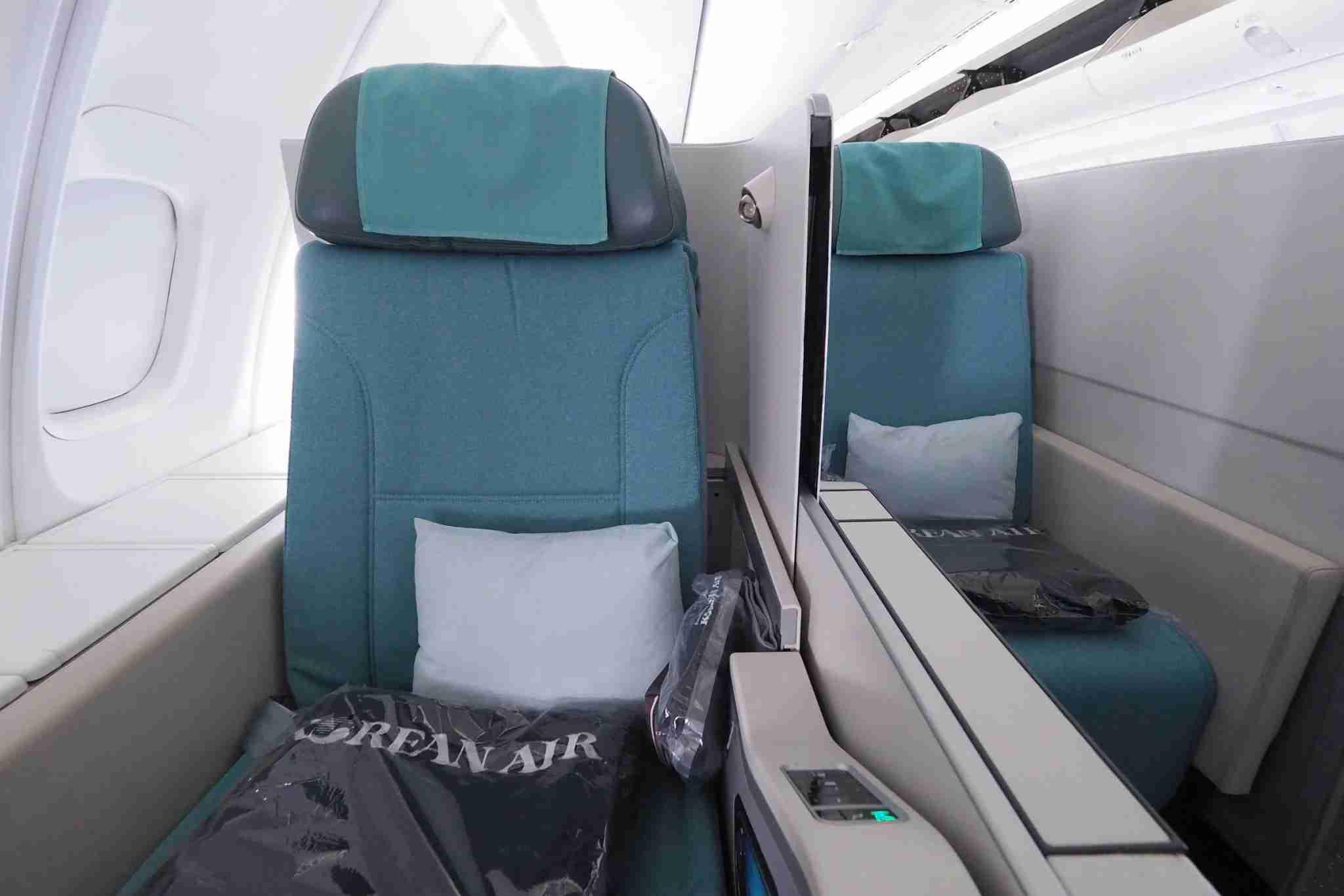Korean Air 747-8 Business Class Review