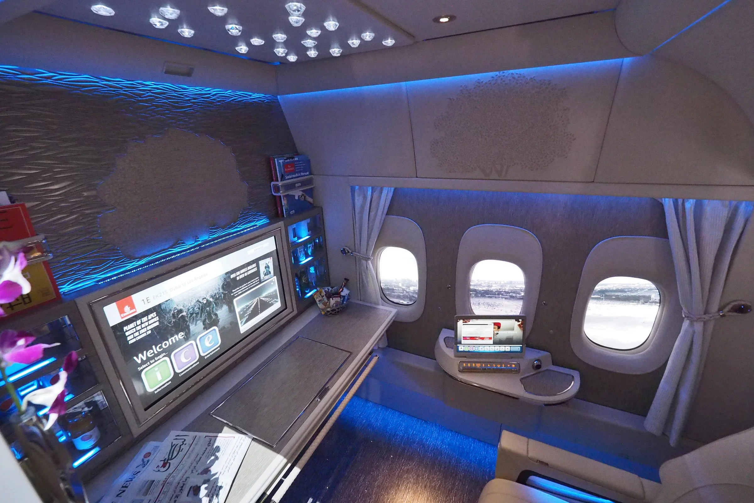 Here S The New Emirates First Class Suite On The 777 300er