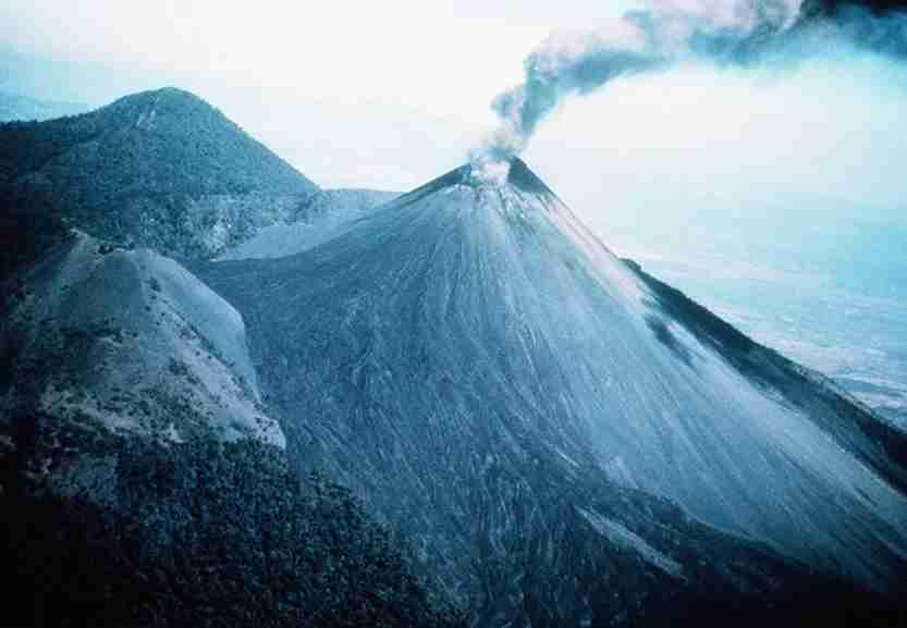 pacaya, guatemala, volcano