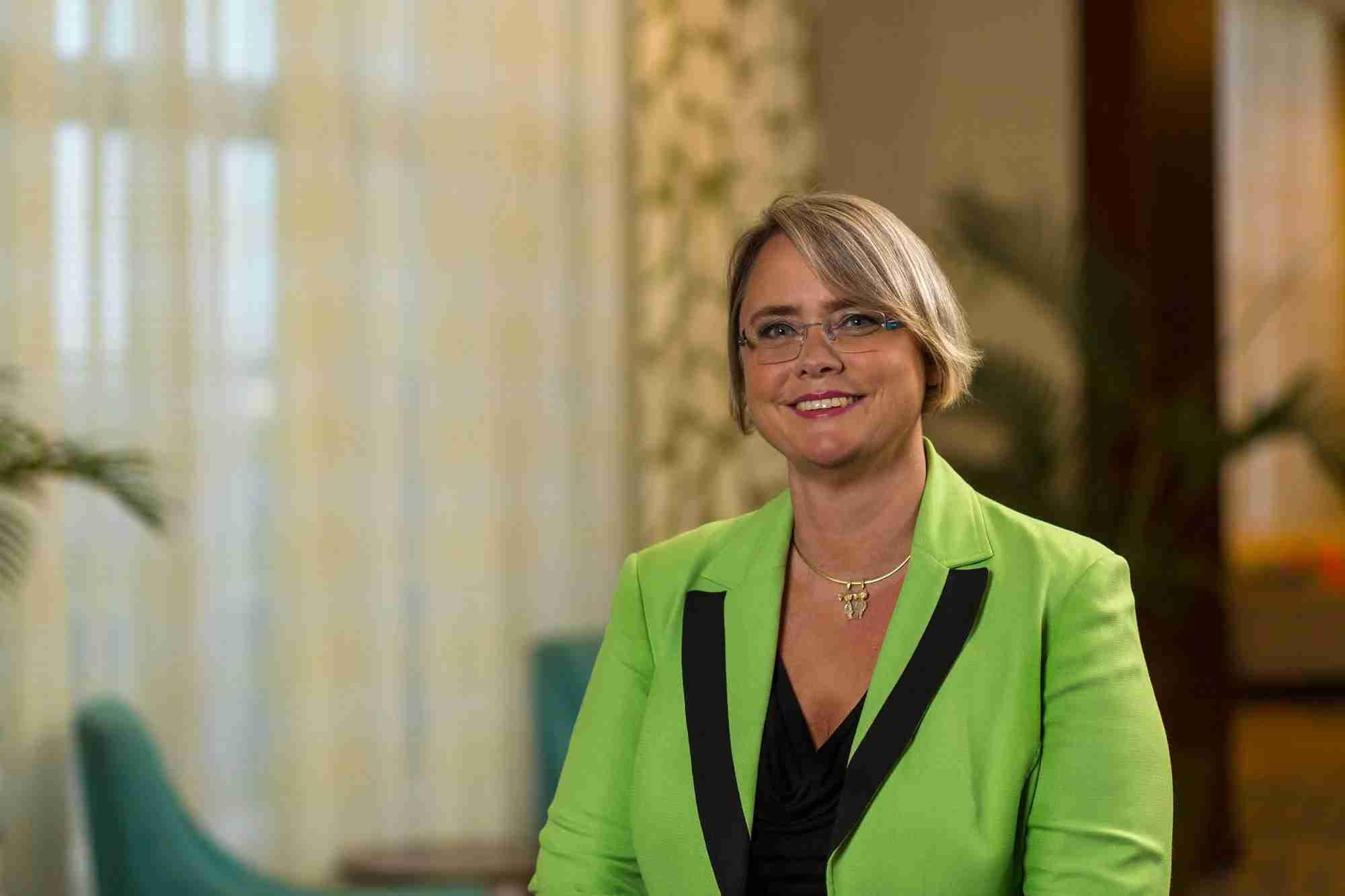 Louella Brezovar, hotel manager at The Ritz-Carlton, Aruba.