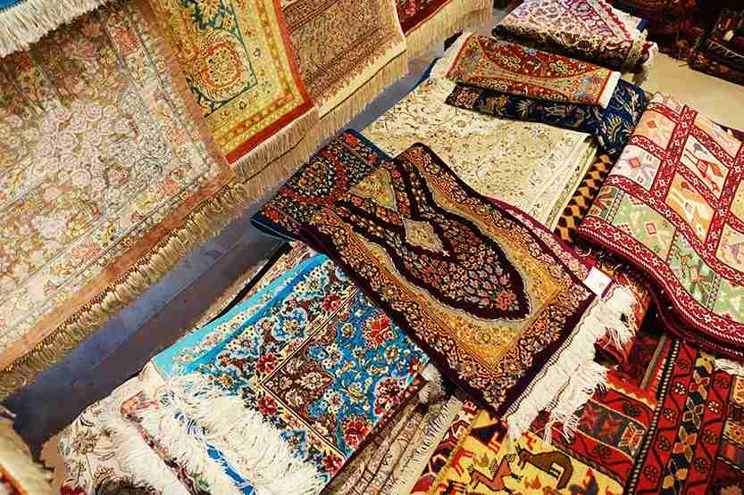 Rugs gift shop Al Maha Desert Resort Dubai Review