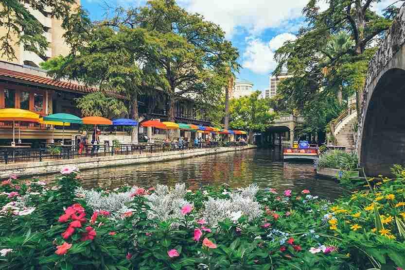 Riverwalk in San Antonio, Texas