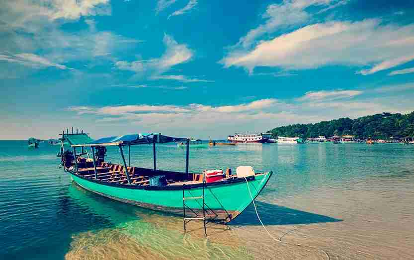 The beaches around Sihanoukville are some of Southeast Asia