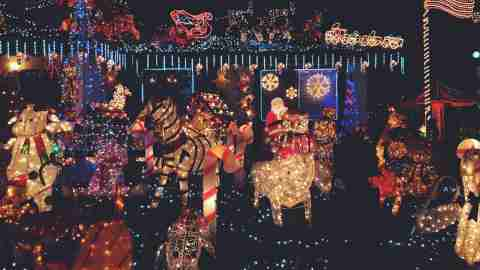 The Most Extravagant Christmas Lights on Earth