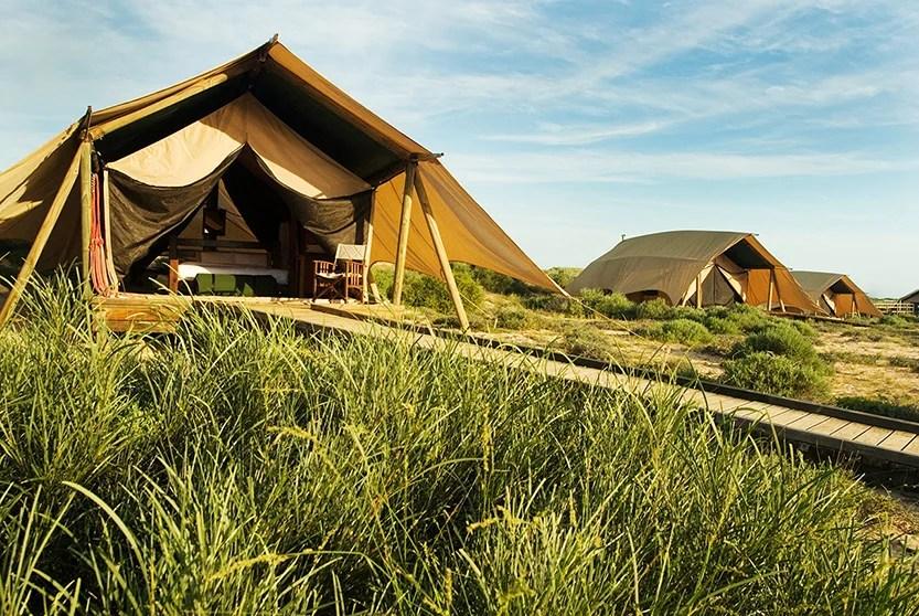 Sal Salis is a luxury eco camp in Western Australia. Image courtesy of Sal Salis.