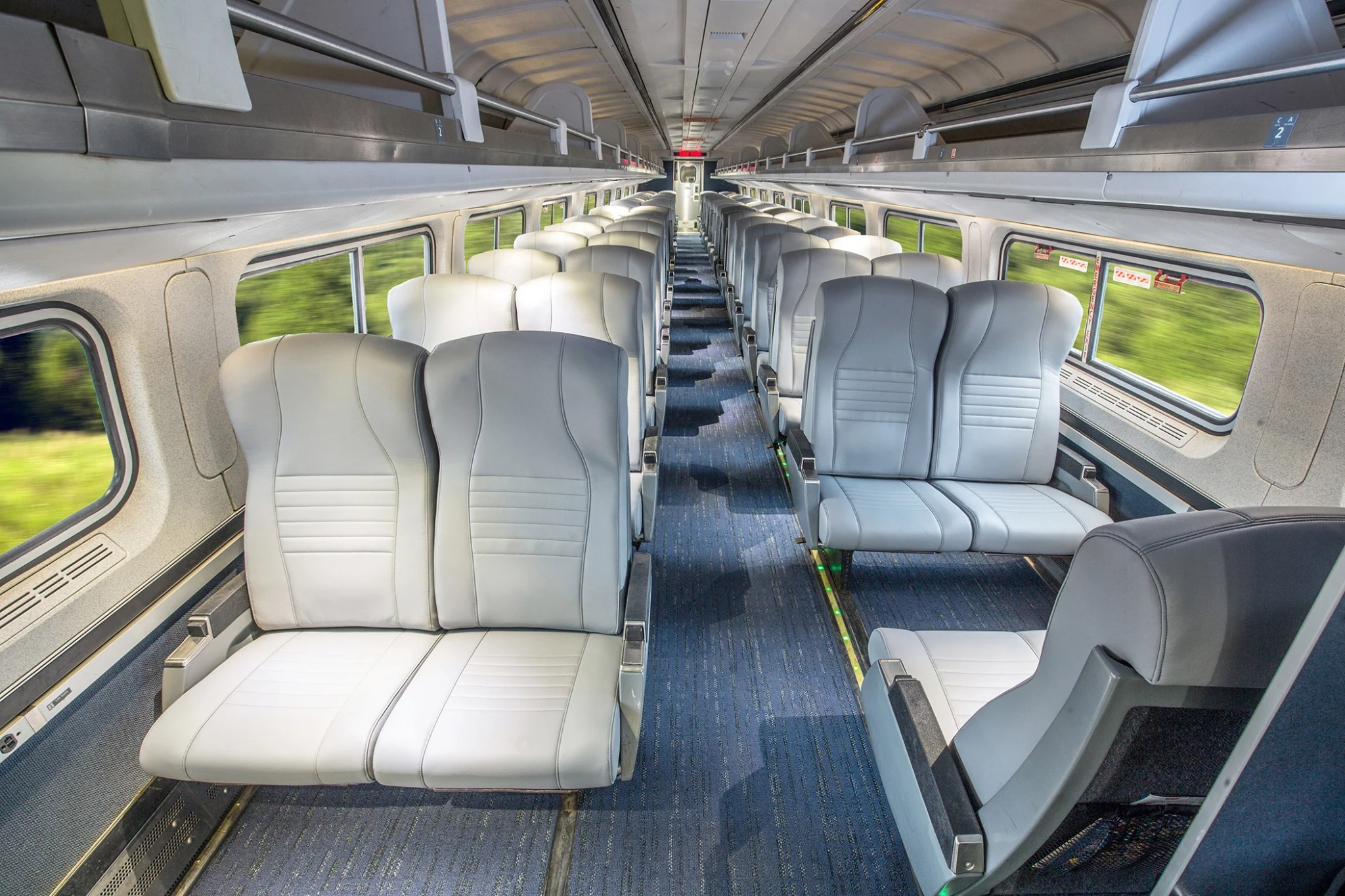 With New Ex Delta Ceo Amtrak Is Remaking Its Train Seats