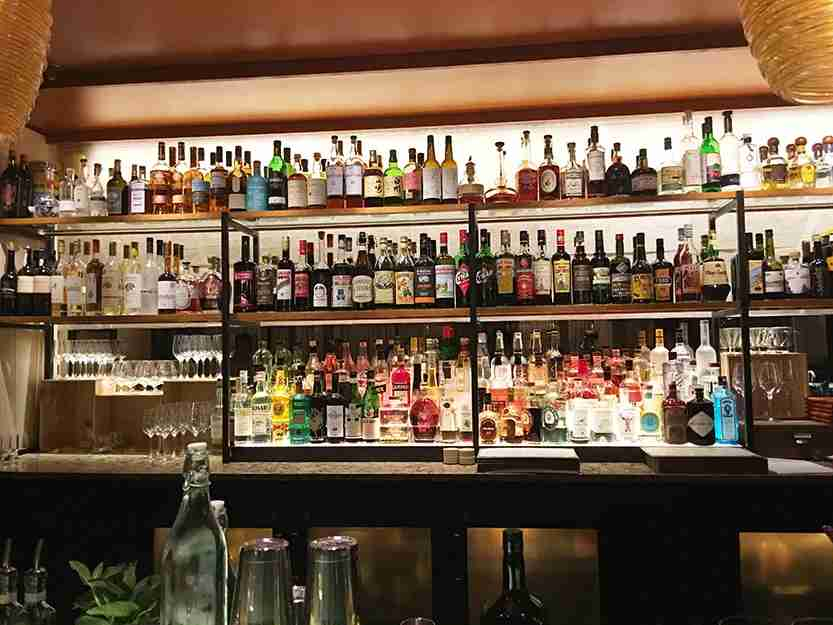 Back Bar at Benedetto.