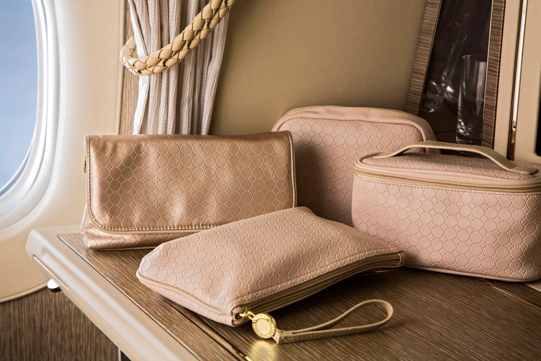 New EMIRATES Business Class BVLGARI AMENITY KIT Travel Wash Bag
