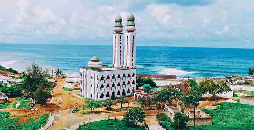 The Mosque of Divinity in Dakar, Senegal. Photo by IgorSPb / Getty Images