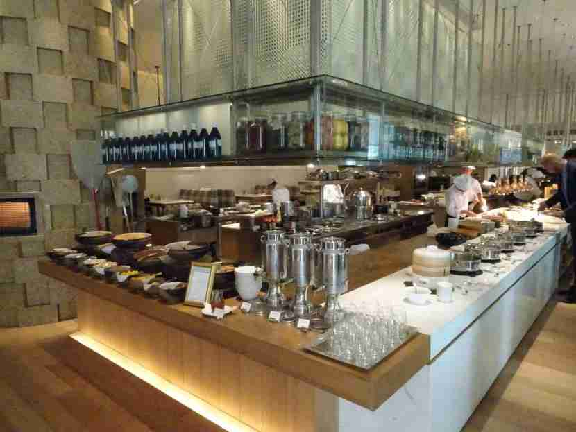In the morning, Opera serves a breakfast buffet.