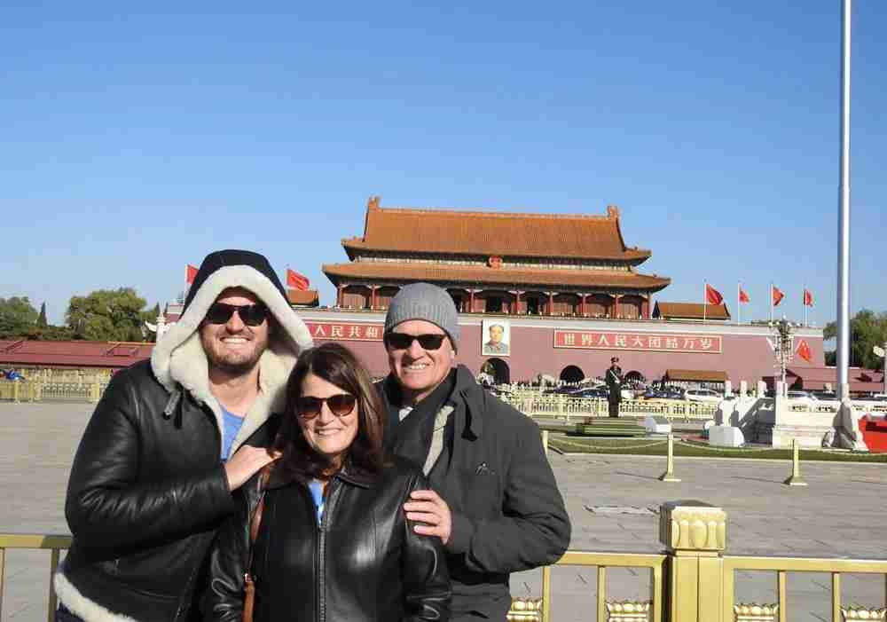 My parents and I in China.