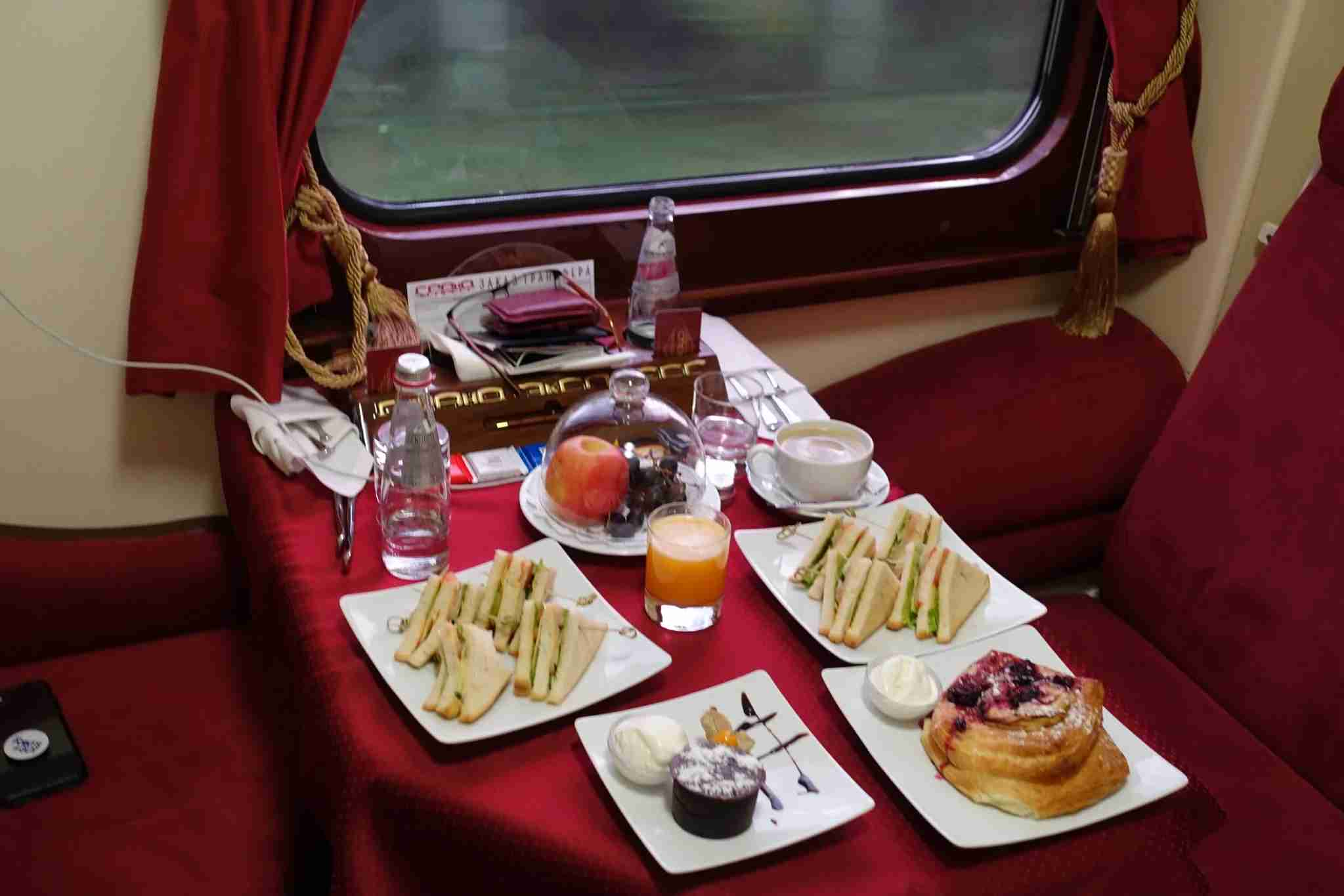 grand express, train, moscow