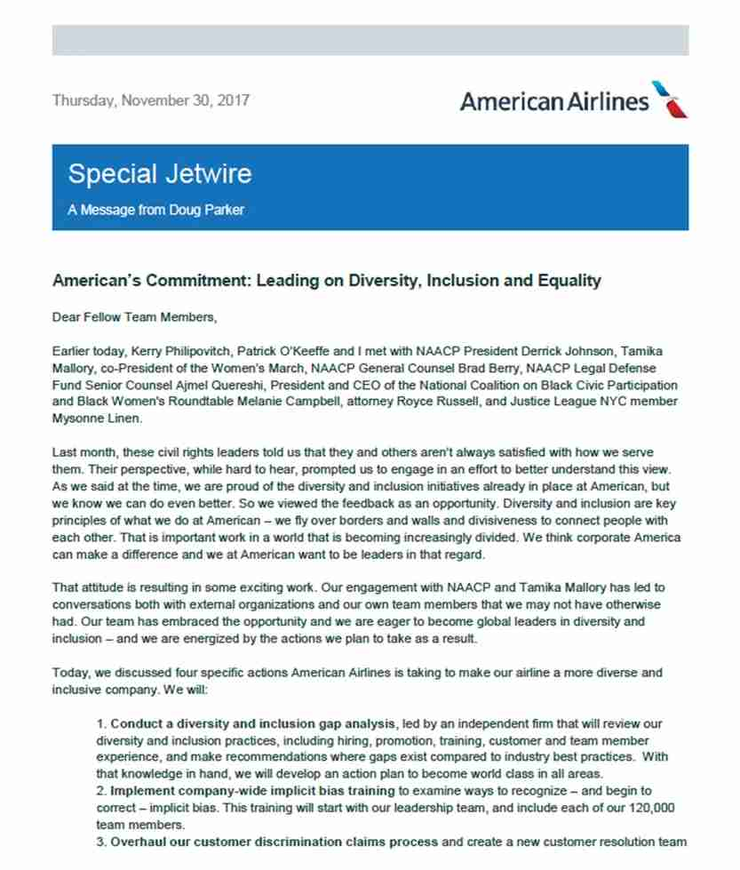 AA, american airlines, naacp