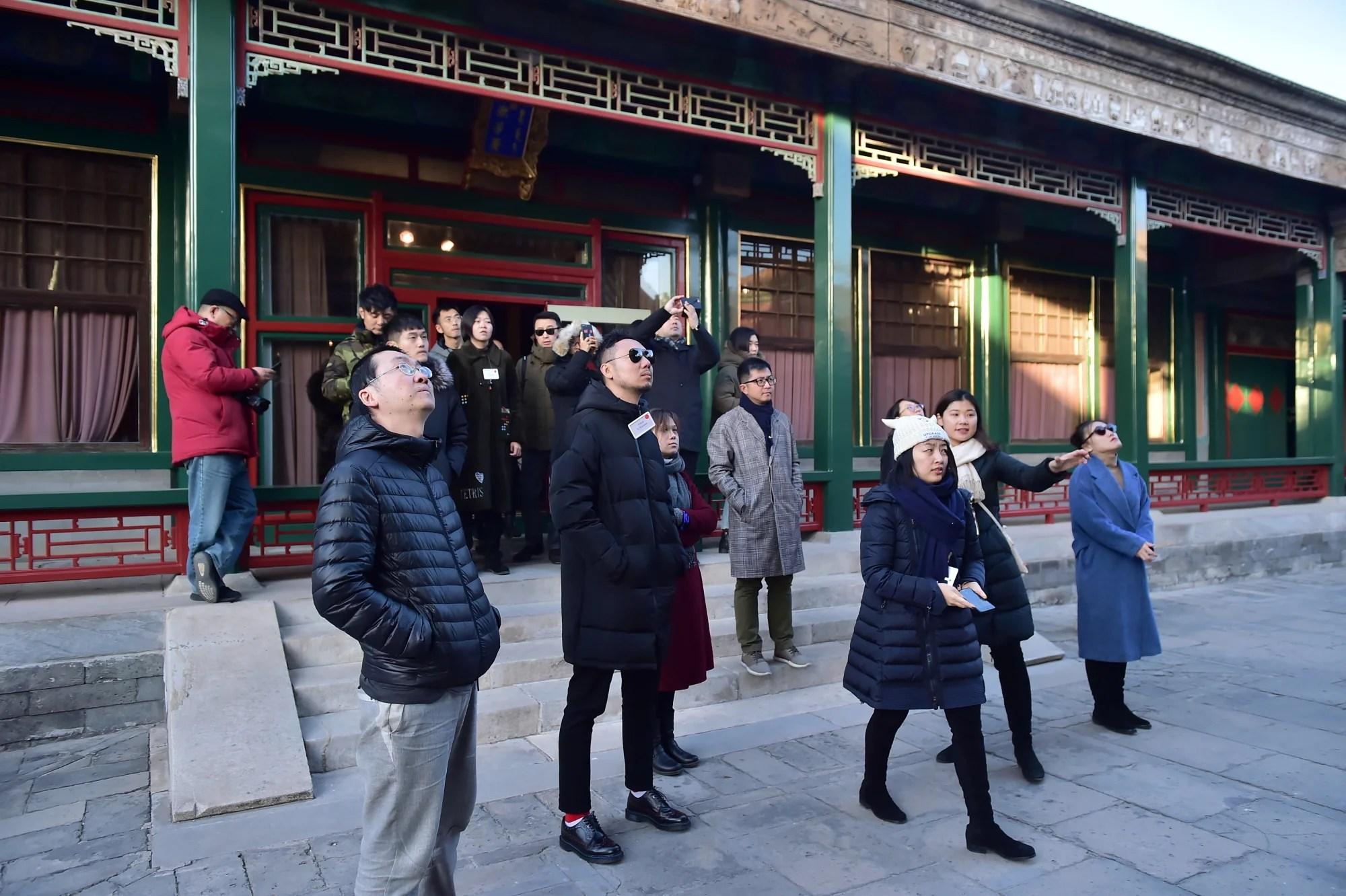a glimpse inside beijing 39 s forbidden city. Black Bedroom Furniture Sets. Home Design Ideas