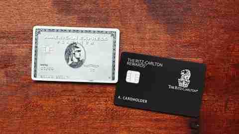 American Express Platinum Ritz Carlton Rewards Card
