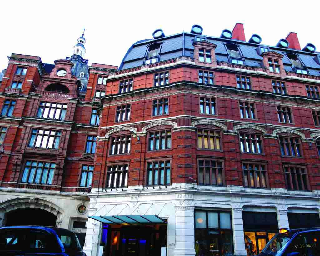 Andaz Liverpool Street London shares architects with the UK