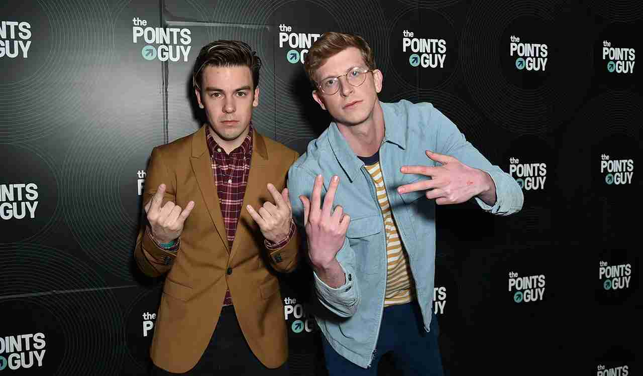 NEW YORK, NY - JANUARY 23: Cody Ko (L) and Matt King attend The Points Guy 2018 Grammy Party with Lil Uzi Vert on January 23, 2018 in New York City. (Photo by Mike Coppola/Getty Images for The Points Guy)