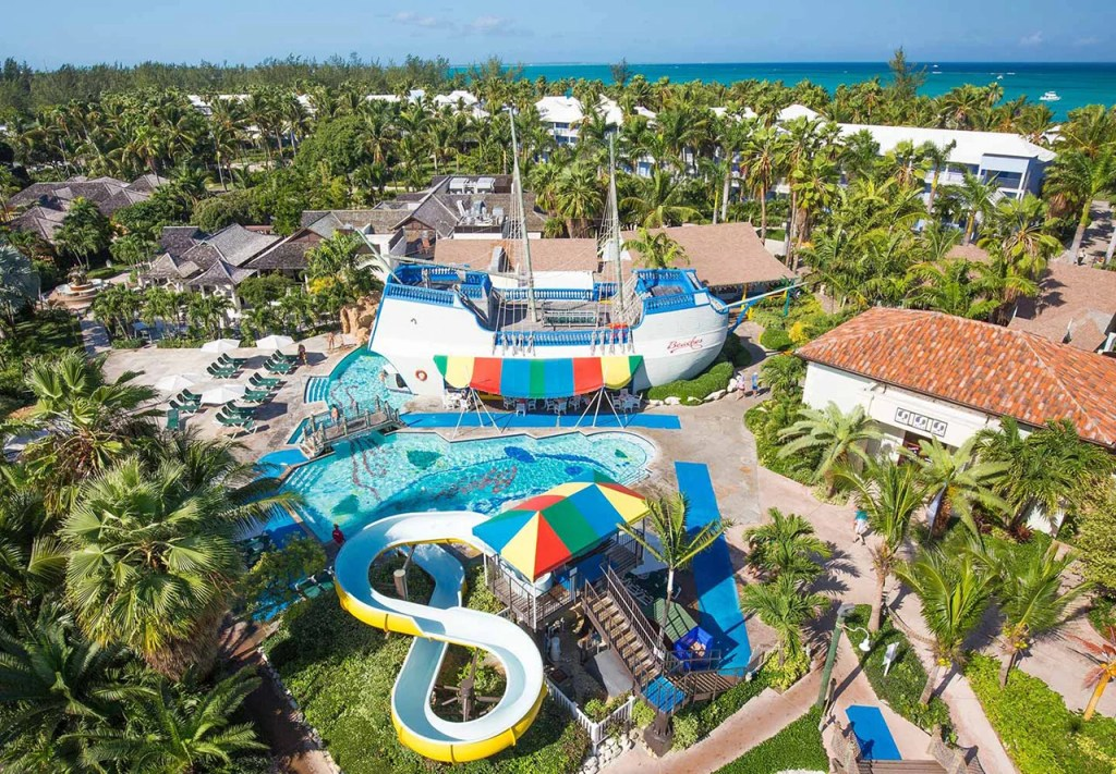 84aeafe8f20be7 Pool and slides at Beaches in Turks and Caicos. Courtesy Beaches