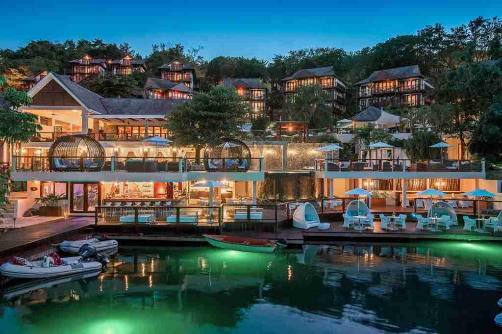 Capella Hotel, Marigot Bay. (Photo courtesy St Lucia Hotels And Resorts)