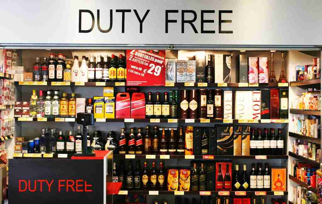 Duty free. (Photo by: BSIP/UIG via Getty Images)
