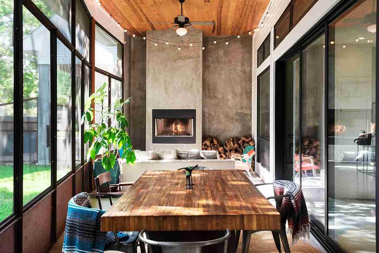 An Airbnb in Austin.