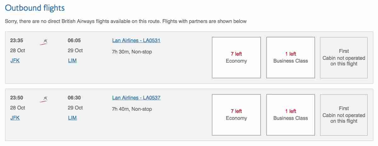 Flights operated by what was formerly LAN can be booked using Alaska miles. The flight numbers begin with prefix
