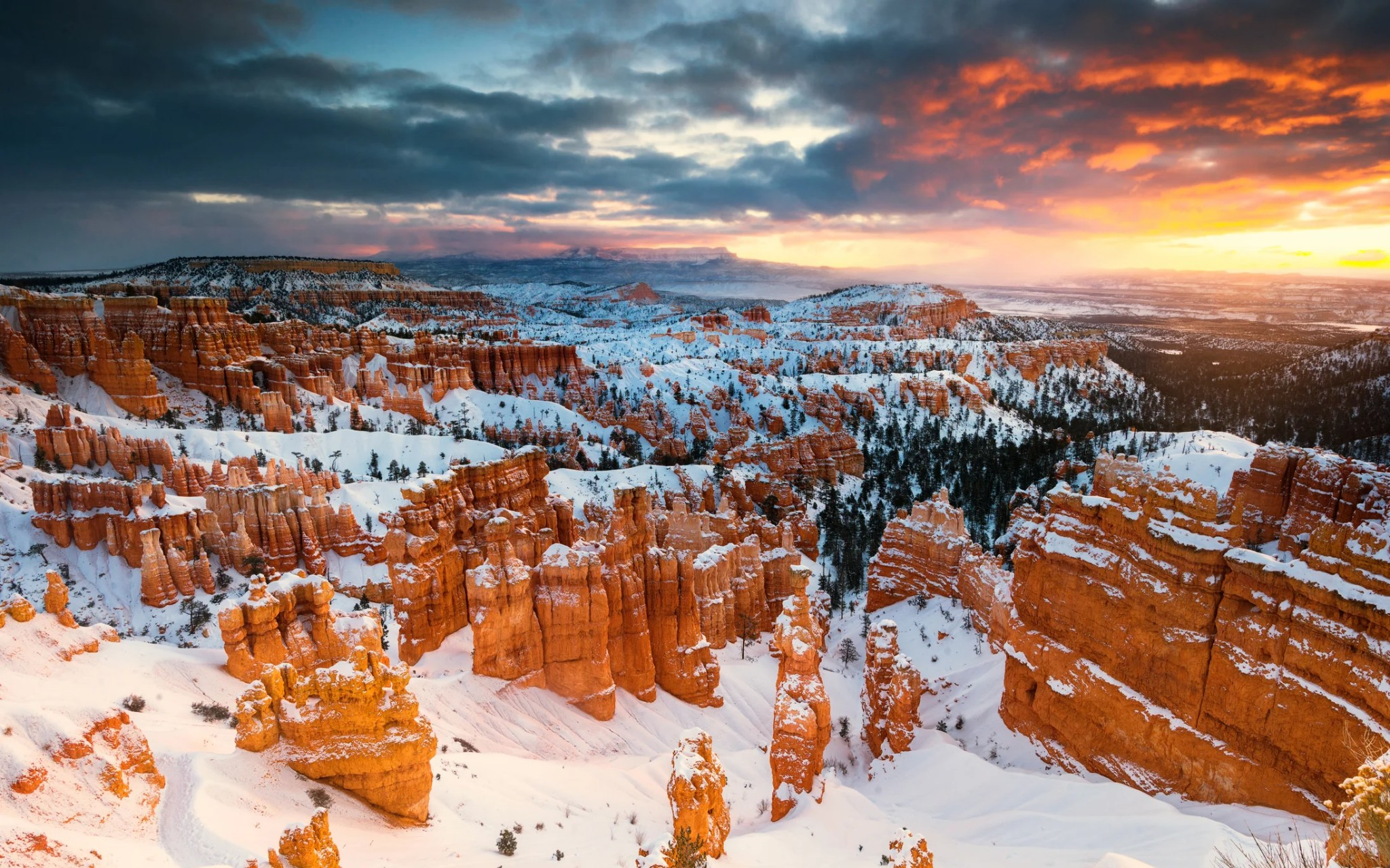 The Best National Parks To Visit During Winter