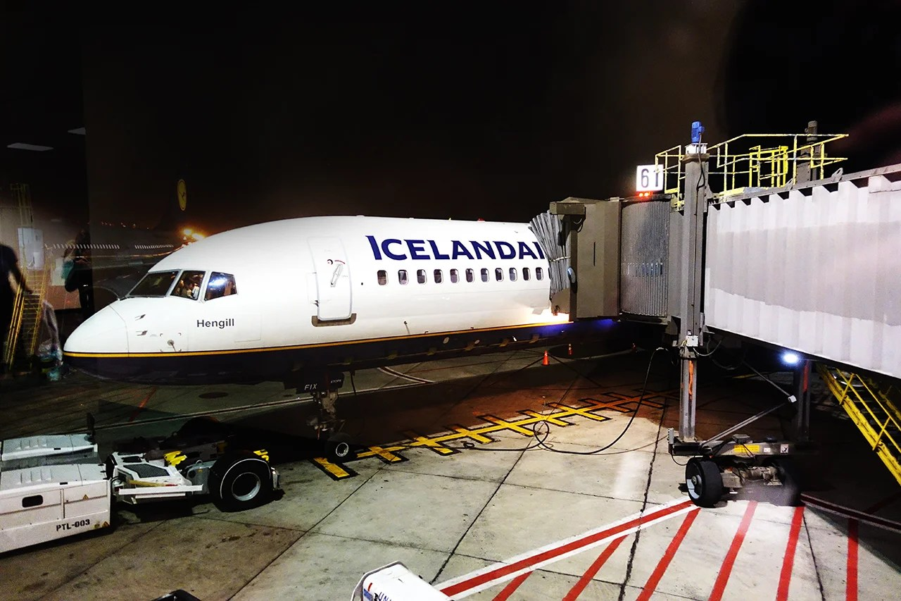 Spaced Out: Economy Comfort on Icelandair from Newark  Spaced Out: Eco...