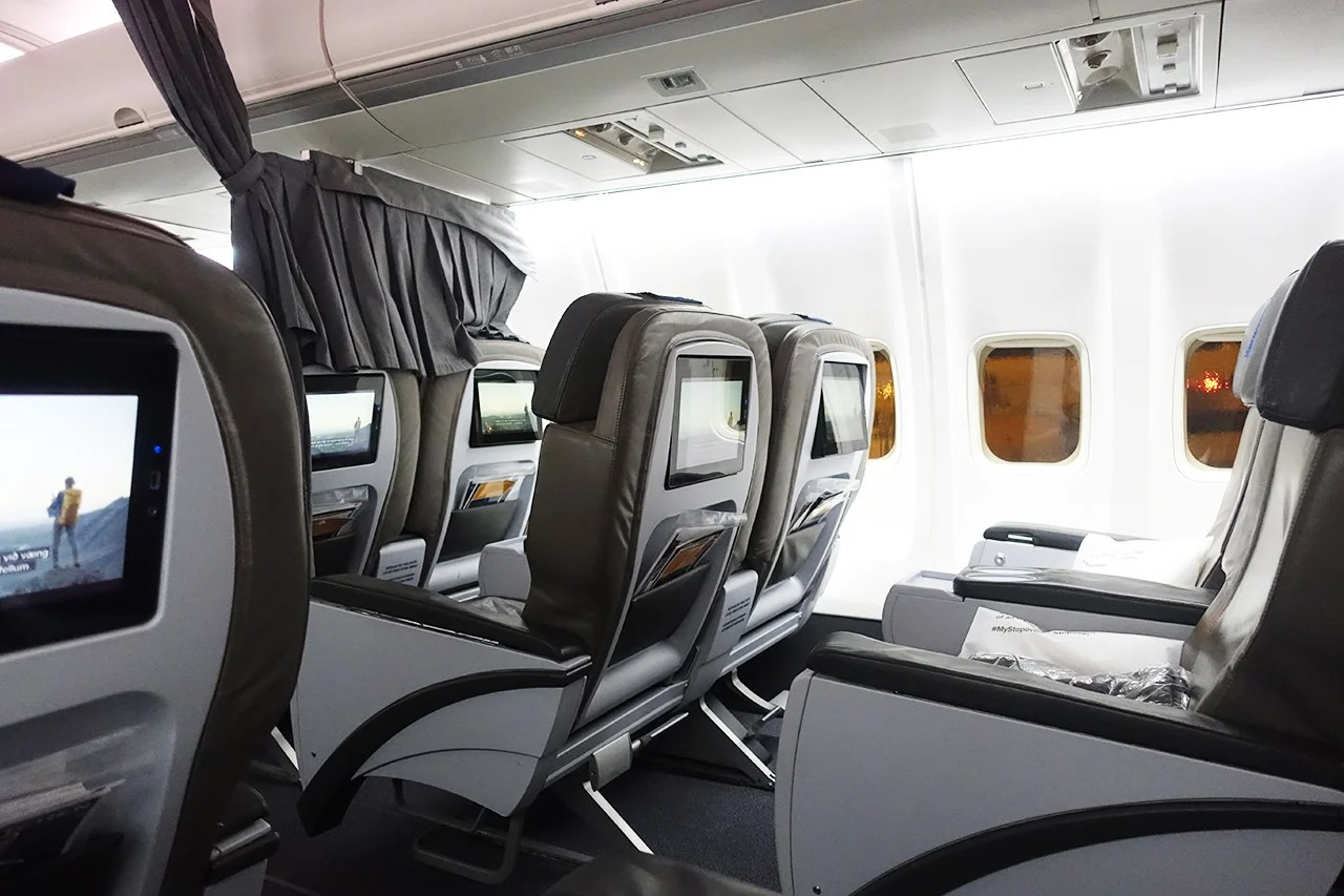 Spaced Out Economy Comfort On Icelandair From Newark