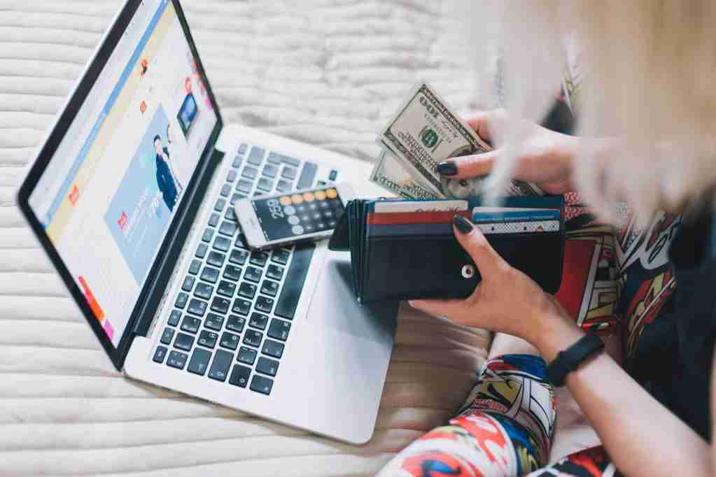 Earning Points and Miles credit card online shopping