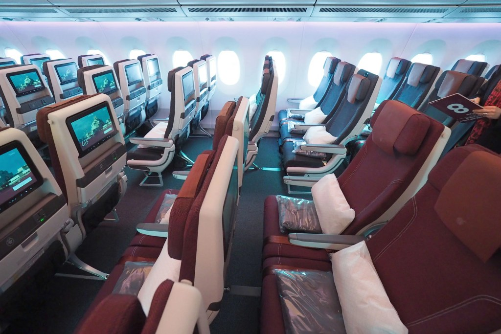 Inside The First Airbus A350 1000 With Qatar S Qsuite Biz