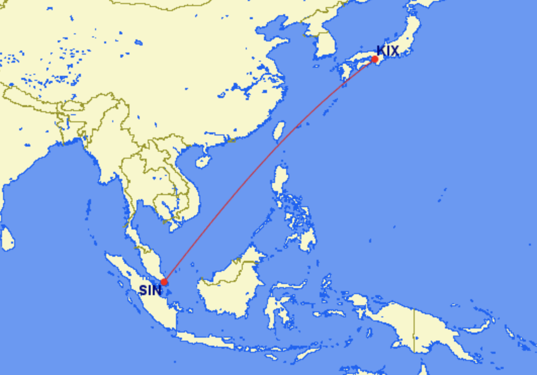 Singapore Reveals First 787-10 Route to Osaka in May