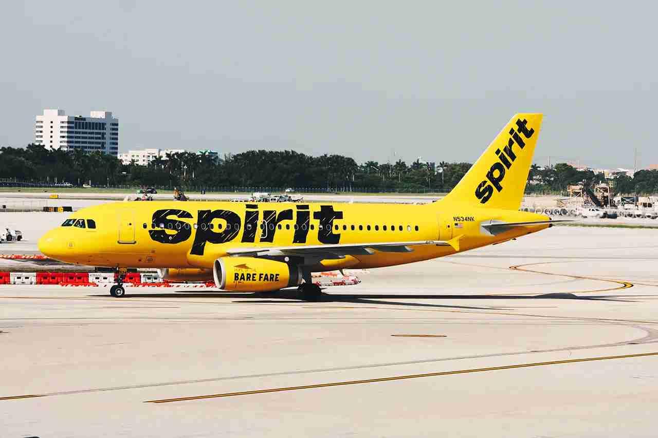 A Spirit Airbus A319 (Photo courtesy Spirit)